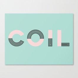 COIL Canvas Print