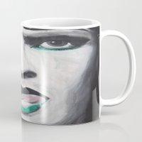 neil gaiman Mugs featuring Neil by 4:F by Freddie:4
