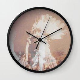 Native Life Wall Clock