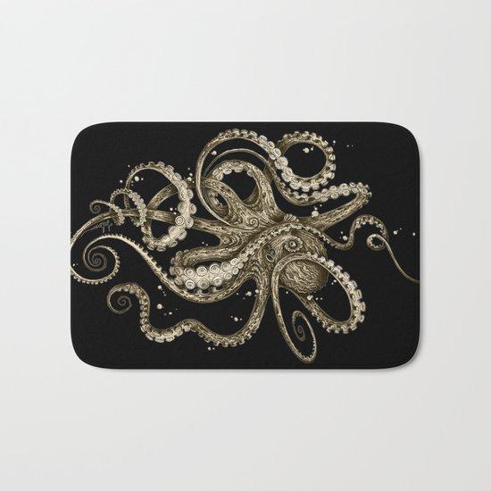 Octopsychedelia Sepia Bath Mat