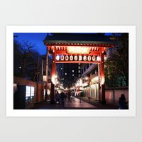 Tokyo Gateway Art Print