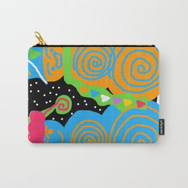 Snow Couple Carry-All Pouch