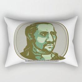 10 Dollar Founding Father Rectangular Pillow