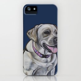 Gracie the Labrador iPhone Case