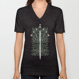 Flame of the West Unisex V-Neck