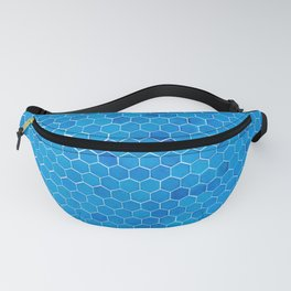 Turquoise Sequins Fanny Pack