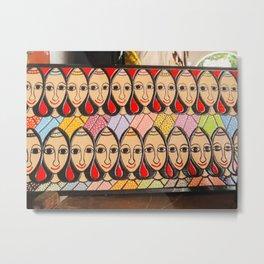 Brazilian handicraft Metal Print