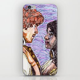 Outlander: Jamie & Claire iPhone Skin