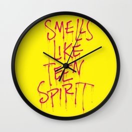 What's That Smell? Wall Clock