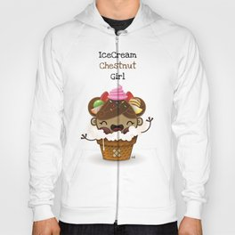 Ice Cream Chestnut Girl Hoody