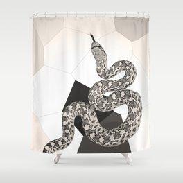 """Drawn to Scale"" by Murray Bolesta Shower Curtain"