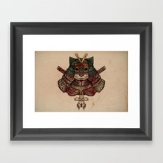 I've Shed the Blood of Many Men Framed Art Print