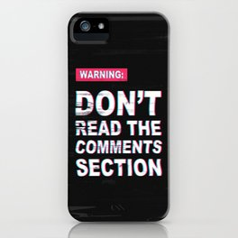 For Your Own Sanity iPhone Case