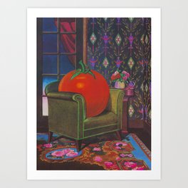 Therapy With A Tomato Milton Glaser - Tomato- Something unusual is going on here - 1978 Kunstdrucke