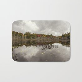 a pond Bath Mat