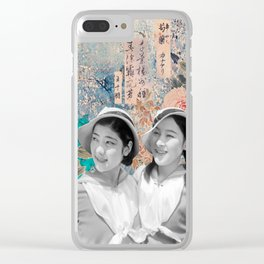 Greatest Lie Clear iPhone Case