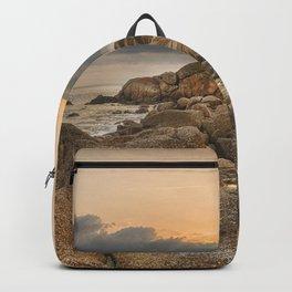 Stones, Ocean and Heaven Backpack