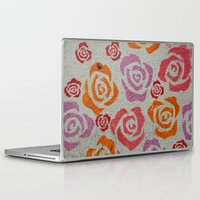 concrete Laptop & iPad Skins featuring concrete  by elizabethaknee