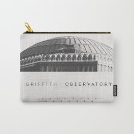 Griffith Observatory - Black and White version Carry-All Pouch