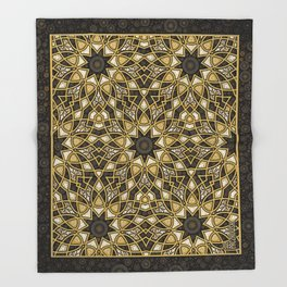 Weaving Pattern Throw Blanket