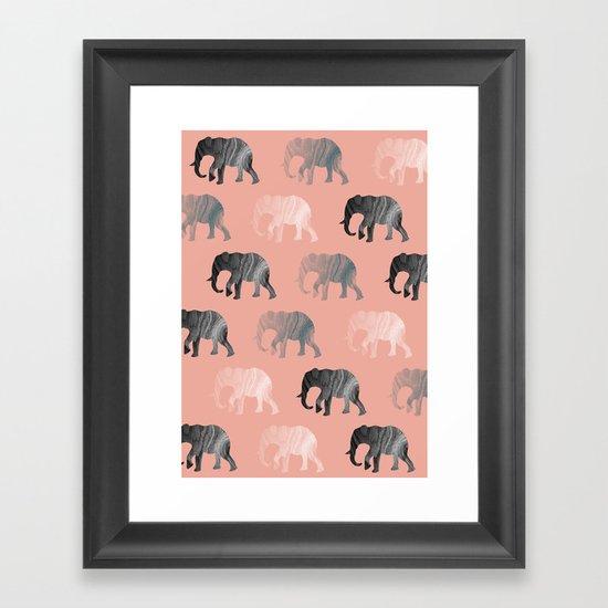 scissoven2 Framed Art Print