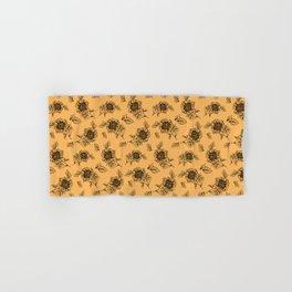 Vintage Sunflower Pattern  Hand & Bath Towel