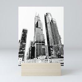 Chicago's Willis Tower Mini Art Print