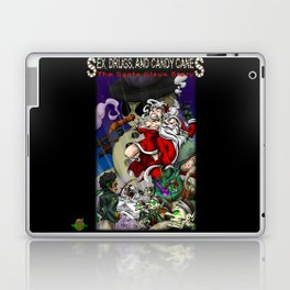 Sex, Drugs, and Candy Canes: The Santa Claus Story Laptop & iPad Skin