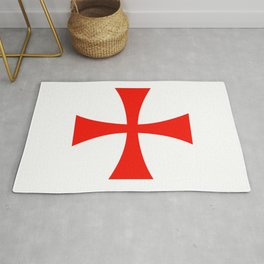 Knights Templar cross Rug