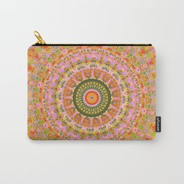 Happy Hippy Mandala Carry-All Pouch
