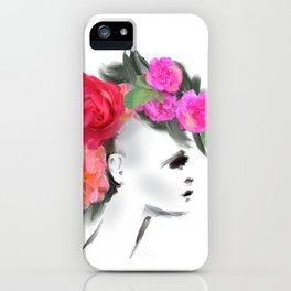 Belle Mohican iPhone Case