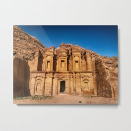 Petra Jordan Metal Print