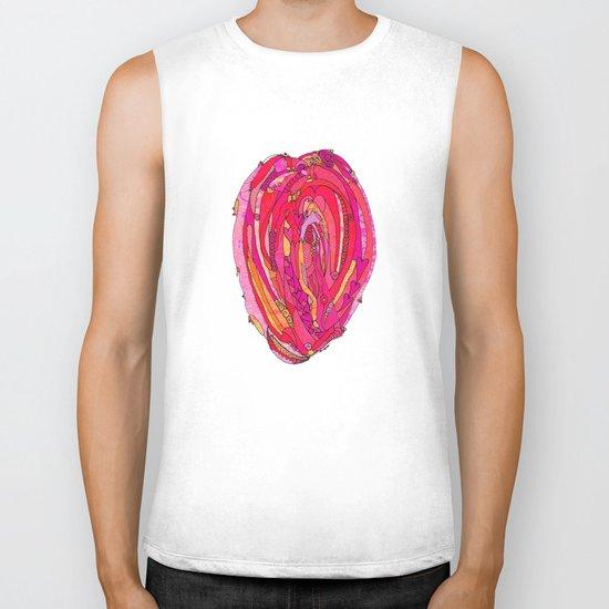 Artsy Heart Biker Tank