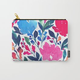hand painted flowers_3a Carry-All Pouch