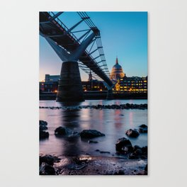 Dusk - London Canvas Print