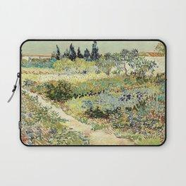 Vincent Van Gogh : Garden at Arles Laptop Sleeve