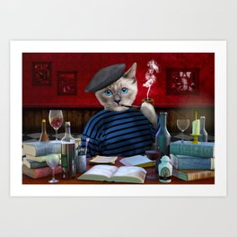 BlueGate_ArtistsLife Art Print