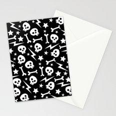 Punk Pattern Stationery Cards