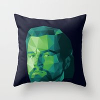 calvin Throw Pillows featuring Calvin Candie by Dr.Söd