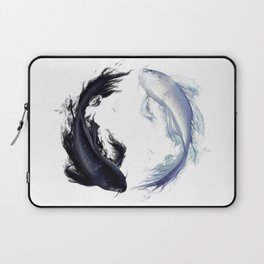 Yin Yang Carps Laptop Sleeve