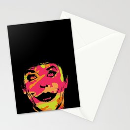 Super villain in disguise art print Stationery Cards