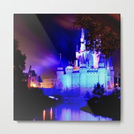 The Magic of the Castle Metal Print