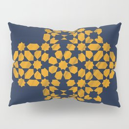 Zellige - blue and yellow Pillow Sham