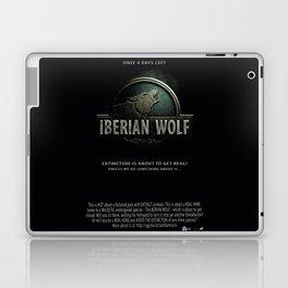 Iberian Wolf Laptop & iPad Skin