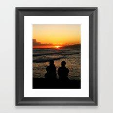 Sun Kissed Framed Art Print
