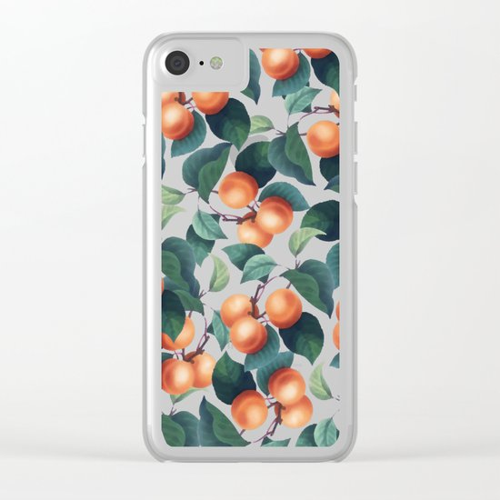 Tropical Fruit #society6 #decor #buyart Clear iPhone Case
