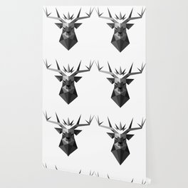 The Crowned Stag Wallpaper