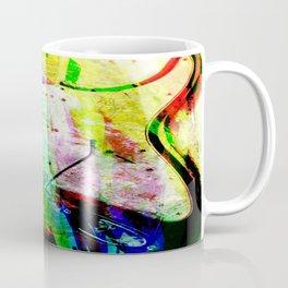 Abstract Electric Guitar Coffee Mug