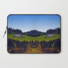 A farm, blue sky and some panorama | landscape photography Laptop Sleeve