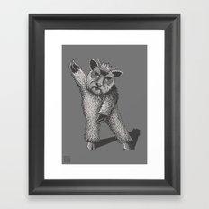 Dancefloor Demon Framed Art Print